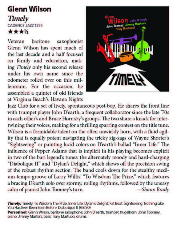 Timely Downbeat Review